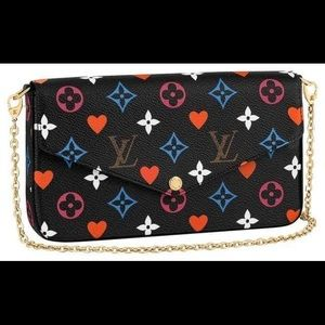Auth Louis Vuitton new rare GAME ON felicie